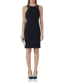 Reiss Saturn Lace Trimmed Dress at Bloomingdales