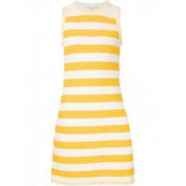 Striped boucle dress at The Webster