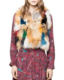 Deluxe Fee Fox Fur Patchwork Bolero by Zadig & Voltaire at Bloomingdales