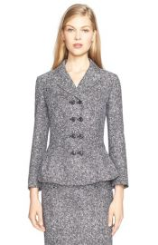 Double Breasted Tweed Jacquard Jacket by Michael Kors at Nordstrom