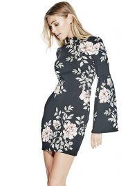 Luba Dress Blushing Rose at Guess
