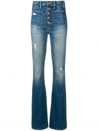 The Patch Pocket Hustler Jeans  Mother at Farfetch