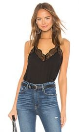 1  STATE Racerback Cami Top in Rich Black from Revolve com at Revolve