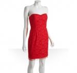 Lemon's red dress at Bluefly