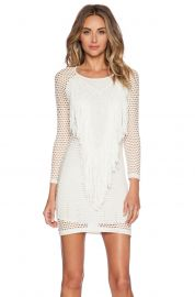 1 STATE Mesh Overlay Dress  at Revolve