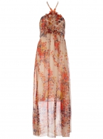 Patterned maxi dress like Karens at Dorothy Perkins