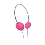 Pink headphones at Amazon