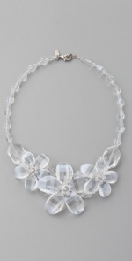 Flower necklace like Lemon's at Shopbop