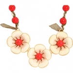 Marc Jacobs flower necklace at 6pm