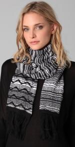 Missoni scarf at Shopbop