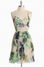 Patterned dress like Lemons at Ruche
