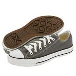 Grey Converse chucks at Zappos