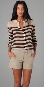 Rachel Bilsons striped blouse at Shopbop