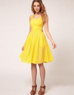 Yellow dress like Lemons at Asos
