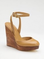Tory Burch wedges at Saks Fifth Avenue