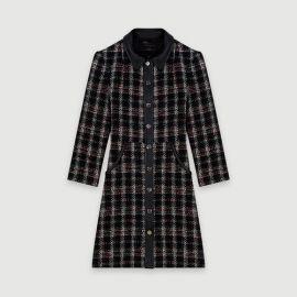 119RENATY Tweed-style contrast dress at Maje