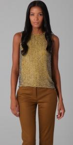 Beaded blouse by Diane von Furstenberg at Shopbop