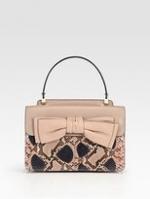 Lemon's bow handbag at Saks Fifth Avenue