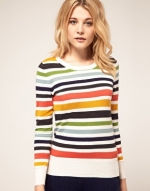 Striped sweater like on Hart of Dixie at Asos