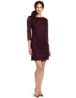 Burgundy lace dress like Zoes at Amazon