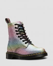 1460 PASCAL RAINBOW GLITTER at Dr Martens