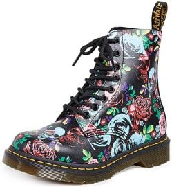 1460 Pascal Rose Combat Boot by Dr. Martens at Amazon