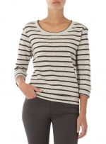 Striped sweater at Dorothy Perkins