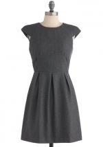 Grey dress  at Modcloth