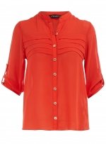 Orange blouse at Dorothy Perkins