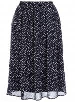 Blue polka dot skirt like Lemons at Dorothy Perkins