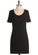 Black basic dress at Modcloth