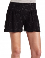Black lace shorts at Amazon