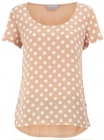 Polka dot blouse at Dorothy Perkins