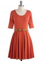 Orange dress like Annies at Modcloth