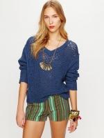 Blue knit sweater like Alexs at Free People
