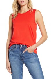 1901 Jewel Neck Tank Top  Regular  amp  Petite    Nordstrom at Nordstrom