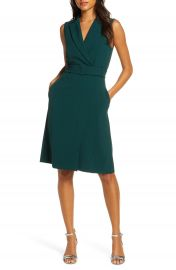 1901 Belted Blazer Sleeveless Dress   Nordstrom at Nordstrom