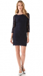 Penny's lace dress at Shopbop