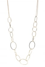 Circle link necklace like Janes at Boohoo