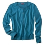 Teal blue cardigan like Annies at Target