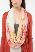 Orange scarf like Alexes at Urban Outfitters