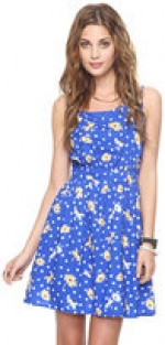 Blue floral dress like Annies at Forever 21