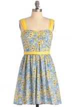 Floral dress like Annies at Modcloth