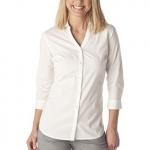 White long sleeve blouse at Target