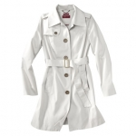 White trench coat at Target