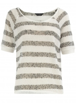 Striped blouse at Dorothy Perkins