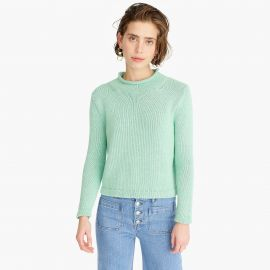 1988 Roll Neck Cropped Sweater at J. Crew