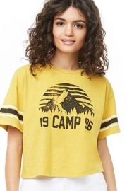 1996 Camp Tee by Forever 21 at Forever 21