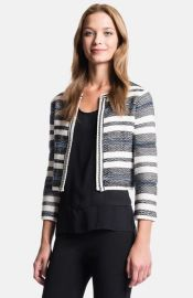 1STATE Boxy Stripe Cardigan at Nordstrom