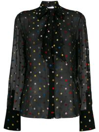 2 545 Givenchy Polka Dot Embroidered Shirt - Buy Online - Fast Delivery  Price  Photo at Farfetch